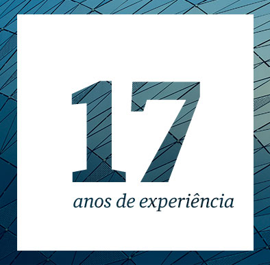 17 anos de experiência